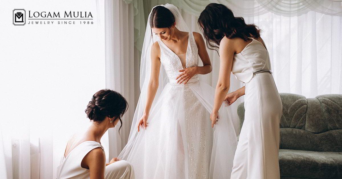 Tips Mengenakan Perhiasan di Hari Pernikahan
