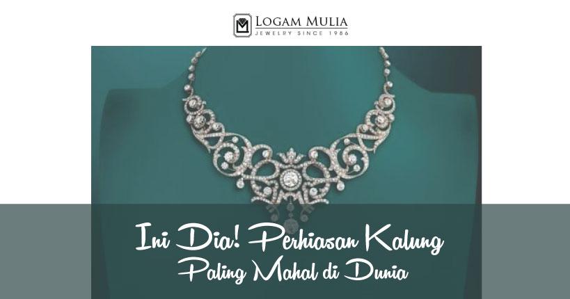 Ini Dia, Perhiasan Kalung Paling Mahal di Dunia