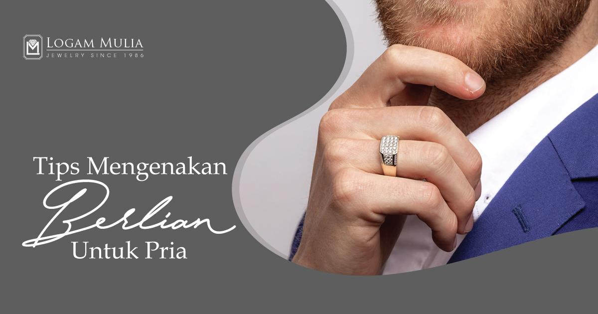 Tips Mengenakan Perhiasan Berlian untuk Pria