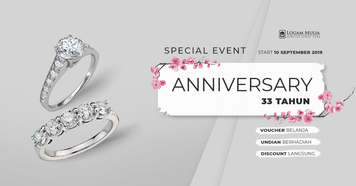 Special Event Celebrating 33 Years Anniversary Logam Mulia Jewelry Malang
