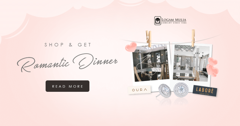 Special Event Romantic Dinner Valentine Day 2020, Logam Mulia Jewelry Malang