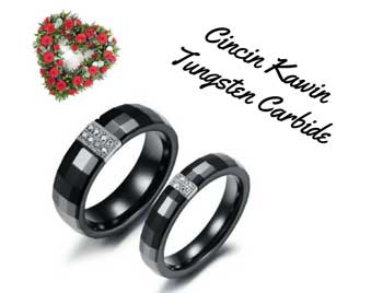 3. Cincin Tungsten Carbide