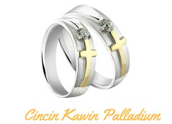 7. Palladium Wedding Rings
