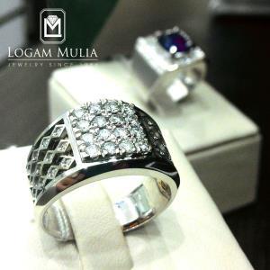cincin berlian pria nemc 002
