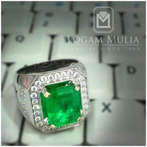 cincin berlian pria dg emerald armc rk r603233