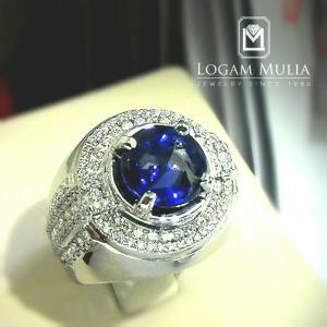 cincin berlian pria dg blue sapphire sdmc 1510 01