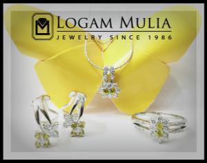 liontin berlian wanita kls 004 005 tdt