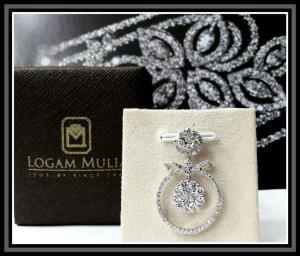 liontin berlian wanita cl00907 003 sstd