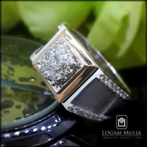 cincin berlian pria armc r603605 send
