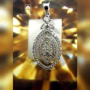 liontin berlian wanita cl0736 005 dtd