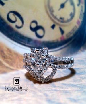 cincin berlian wanita sw x sldd