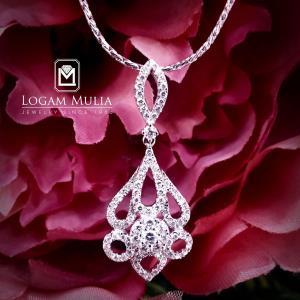 liontin berlian wanita arl.cp.29776 std 24035032082