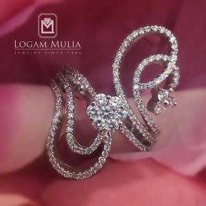 cincin berlian wanita sw1075or009 stes 24044458875