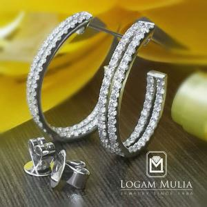 Anting Berlian Wanita DVA.EF4651 ttND