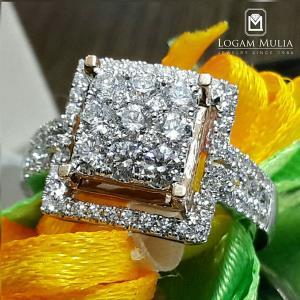 cincin berlian wanita arw.r603642 dndt 15051220380