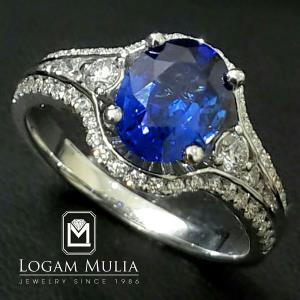 cincin safir wanita crw.sd.f302r ttsl 21051431080