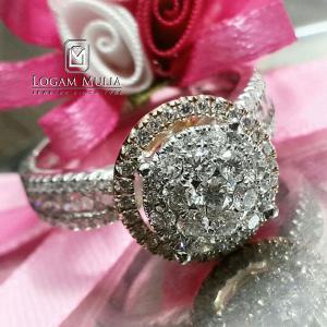 cincin berlian wanita arw.r7052b slll 28053113032