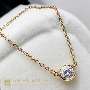 kalung berlian wanita ulky.012.1601 dlt 18035407421