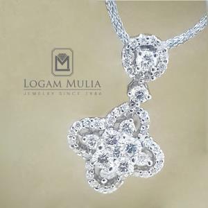liontin berlian wanita scl043or005 stts 18035540687