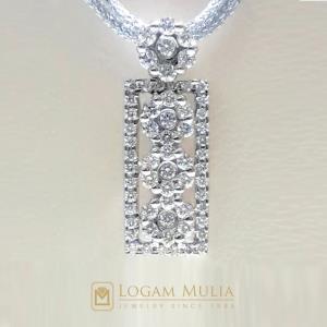 liontin berlian wanita cl0596or021 sned 18035552031