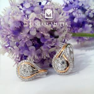 Anting Berlian Wanita ARA.E603658 sDde