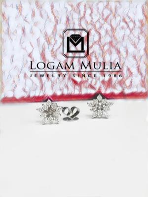 anting berlian wanita ettd3421.ri edl 21105541449