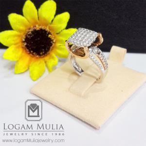 cincin berlian wanita amw.r0014 ssln 21112017807