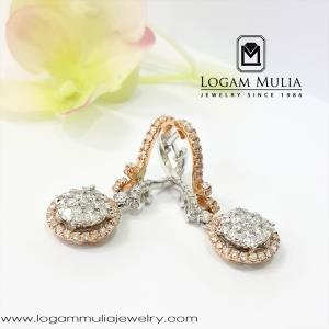 Anting Berlian Wanita DVA.EF4810 dsEs