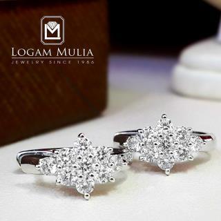 anting berlian wanita pja.e2222 dnt 25012530512