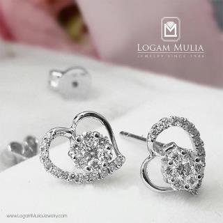 anting berlian wanita pja.e4018 lel 29112443810