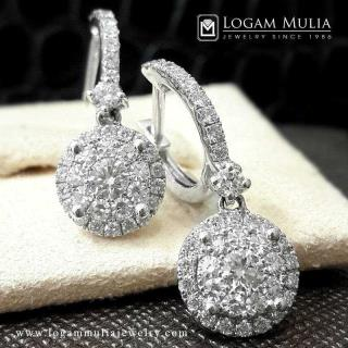 Anting Berlian Wanita ARA.E601298H sDtN