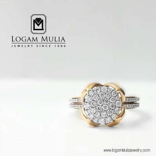 cincin berlian wanita dvw.rff7785 sten 13105506034