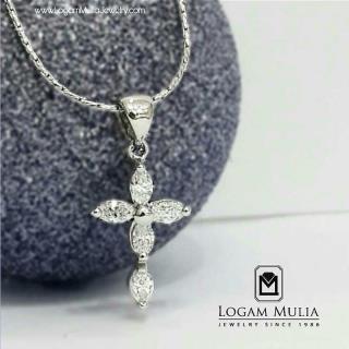 liontin berlian wanita ull.fc.salib ess 14012325036