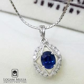 liontin berlian wanita blue sapphire pjl.sp5380 etd 14013222583