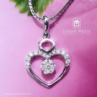 liontin berlian wanita pjl.p5983 tdl 14014324911