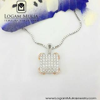 liontin berlian wanita aml.p0038b setd 14015143442