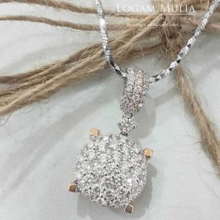 liontin berlian wanita dvl.sp1141b deed 23101151334