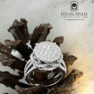 cincin berlian wanita amw.r0028 dlnn 27111337740