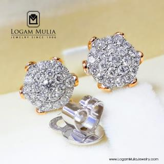 Anting Berlian Wanita AMA.E0036B sdDN