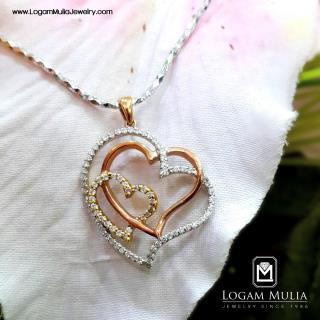 liontin berlian wanita sl01519 sse 19012425197