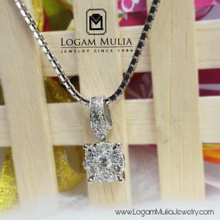 liontin berlian wanita dvl.sp1030 sddn 19023321588