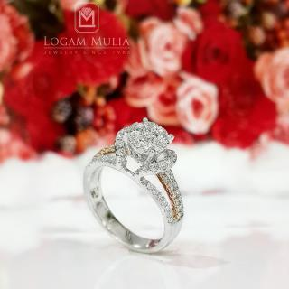 cincin berlian wanita amw. r7257b slen 31023846501