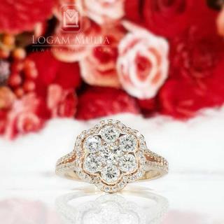 cincin berlian wanita crw.mj2725r dstl 01101623794