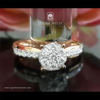 cincin berlian wanita amw.r7240b snnl 01014834939