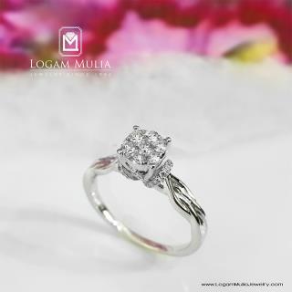 cincin berlian wanita pjw.r7272 dss 01035546440