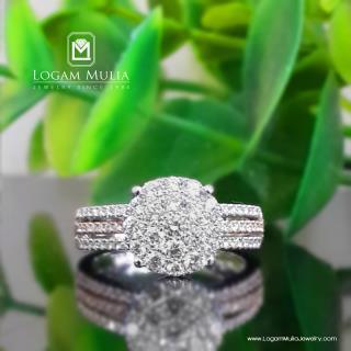 cincin berlian wanita amw.r22494b sddd 01040723866