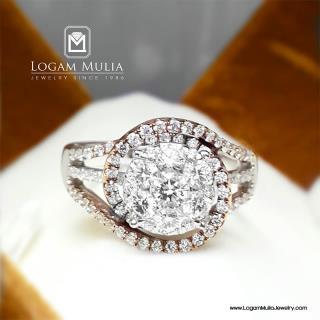 cincin berlian wanita sw.01469 dnne 01043016221