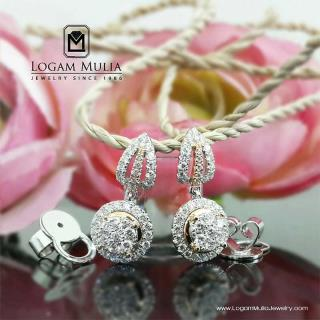 Anting Berlian Wanita AMA.E87186B sLTd