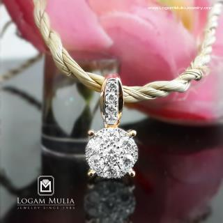 liontin berlian wanita aml.p7241b tnn 01050538399