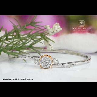 gelang berlian wanita ambg.22404b ssdd 02085751050